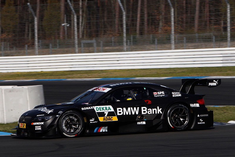 Hockenheim, 2. April 2012. BMW Motorsport. BMW M3 DTM Test. BMW Bank BMW M3 DTM.