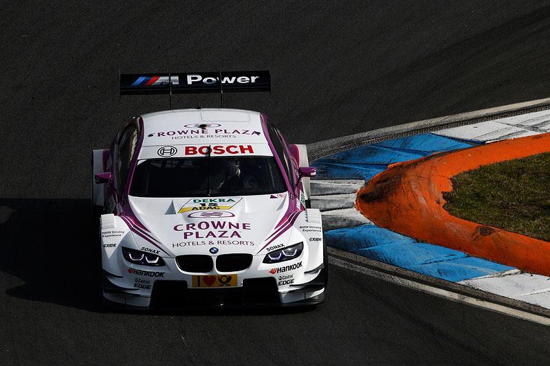 Hockenheim, 2. April 2012. BMW Motorsport. BMW M3 DTM Test. Crown Plaza BMW M3 DTM.