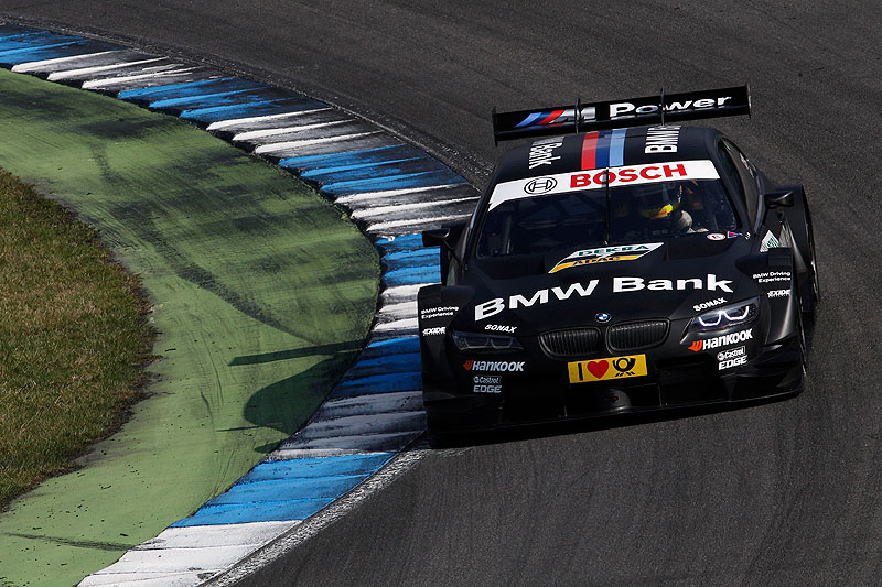 Hockenheim, 3. April 2012. BMW Motorsport. BMW M3 DTM Test. BMW Bank M3 DTM.