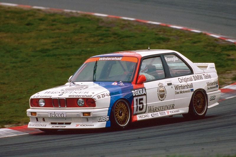 BMW M3 E30 DTM Roberto Ravaglia 1989