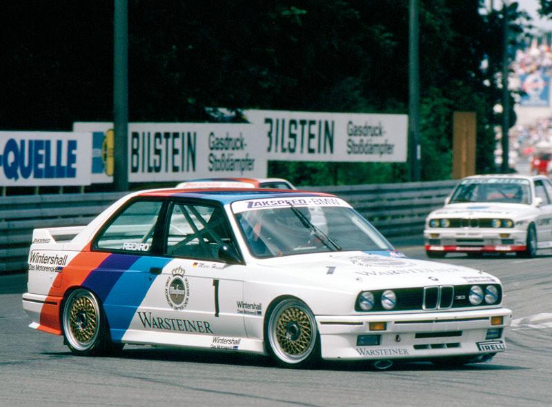 BMW M3 E30 DTM Marc Hessel 1987