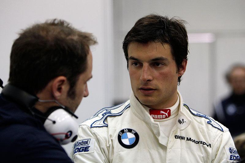 Valencia, 20. März 2012. BMW M3 DTM Test. Bruno Spengler (CA) BMW Werksfahrer.