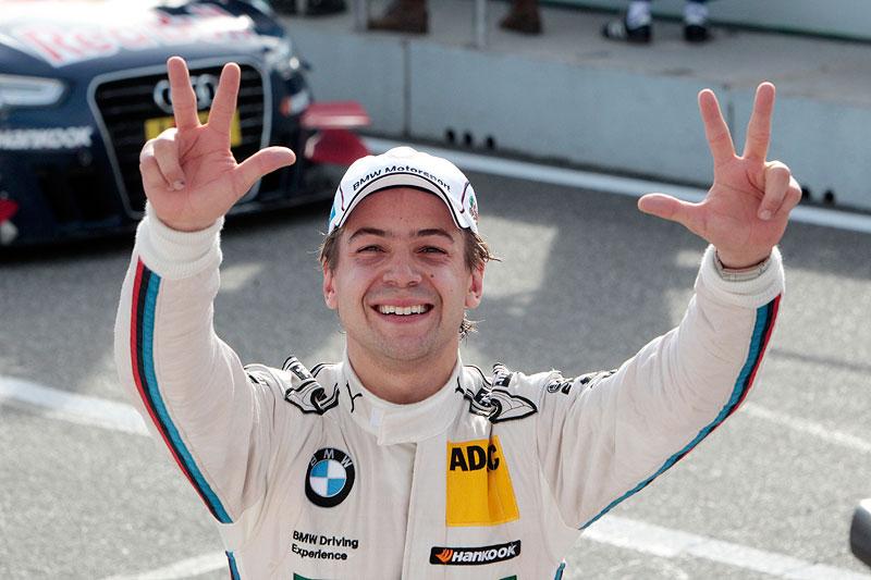 Hockenheim 20. Oktober 2012. Pole Position für Augusto Farfus (BR), BMW Team RBM.