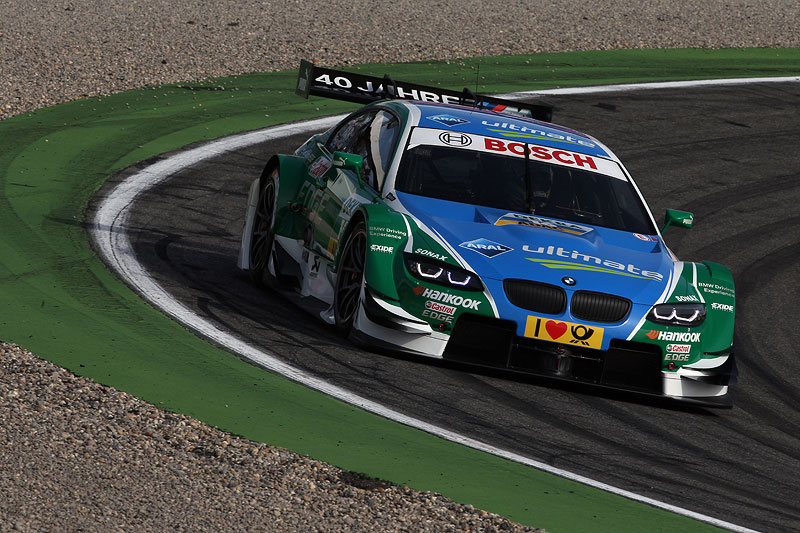 Augusto Farfus in seinem Castrol Edge BMW M3 DTM beim Qualifying am Hockenheimring