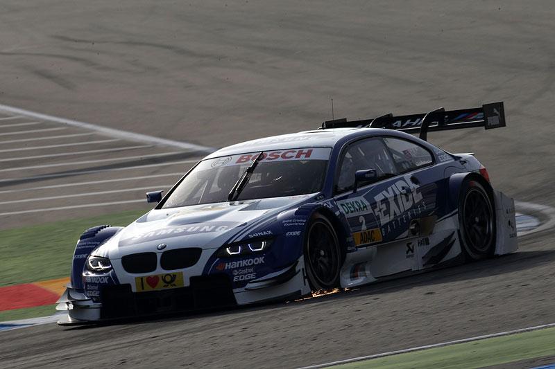 Joey Hand in seinem Samsung BMW M3 DTM beim Qualifying am Hockenheimring