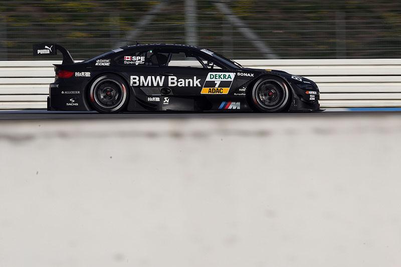 Bruno Spengler in seinem BMW Bank BMW M3 beim Qualifying am Hockenheimring