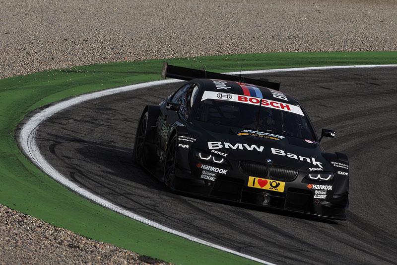 Bruno Spengler in seinem BMW Bank BMW M3 DTM Auto beim Qualifying am Hockenheimring