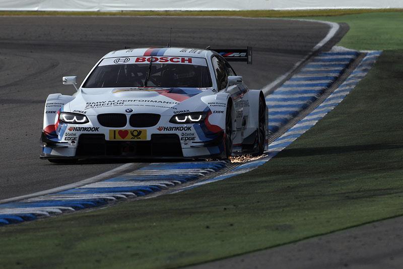 Martin Tomczyk in seinem BMW M Performance BMW M3 DTM beim Qualifying am Hockenheimring