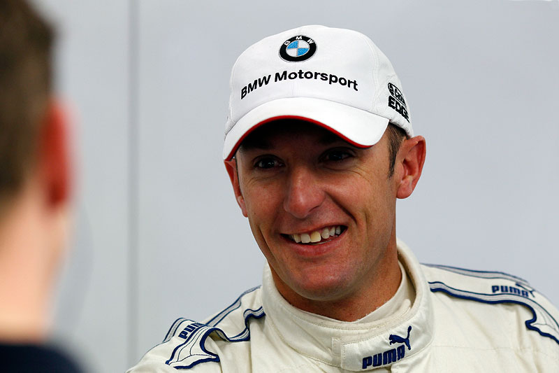 Estoril, 24. Februa 2012. BMW Motorsport. BMW M3 DTM Test. Joey Hand (US) BMW Werksfahrer.