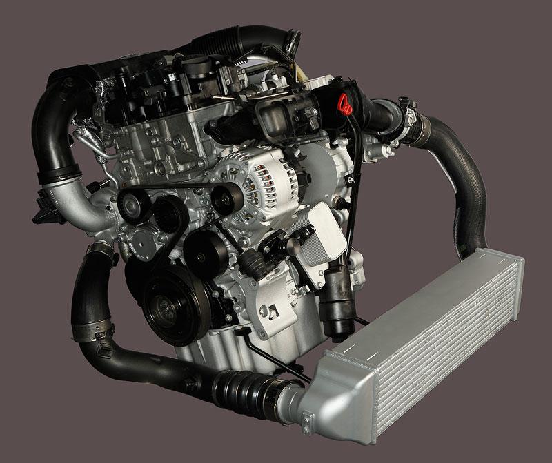 1,5 Liter BMW TwinPower Turbo 3-Zylinder-Motor