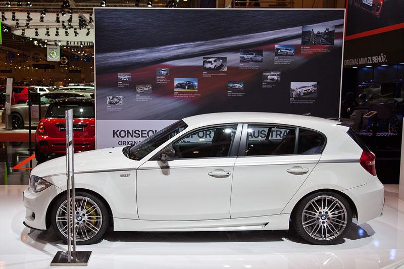 BMW 120d (E87) mit BMW M Performance Komponenten auf der Essen Motor Show 2012