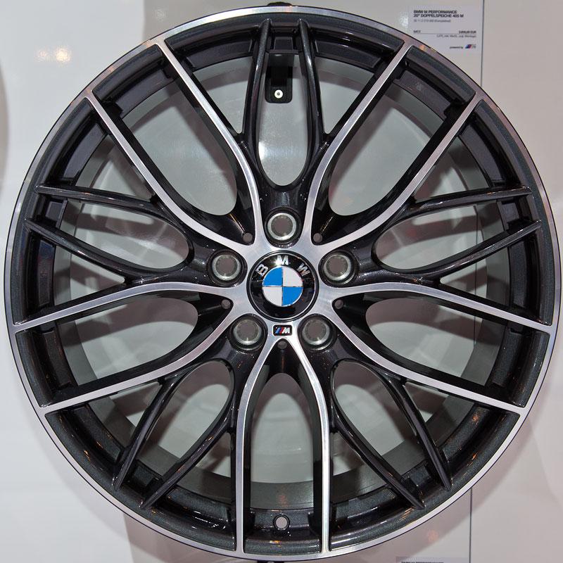BMW M Performance 20 Zoll Doppelspeiche 405 M, Satz: 3.850,- Euro