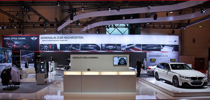 BMW Messestand auf der Essen Motor Show 2012