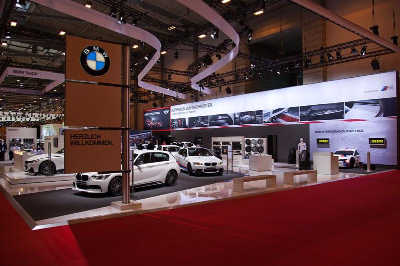BMW Stand auf der Essen Motor Show 2012