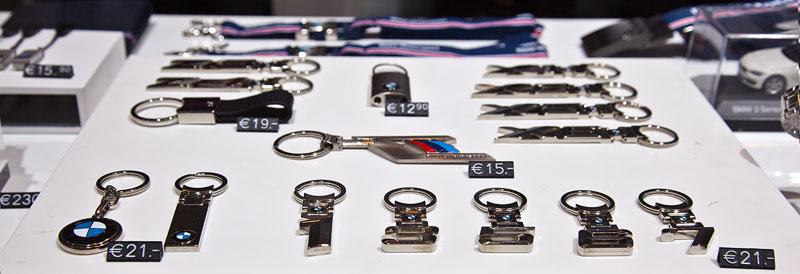 original BMW Schlüsselanhänger in verschiedenen Variationen