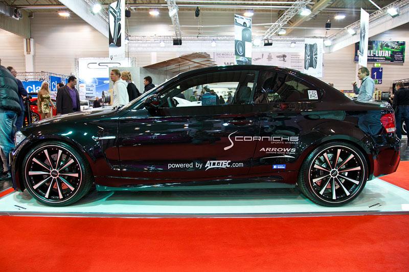BMW 1er M Coupé, auf 20 Zoll Barracuda Shoxx Rädern