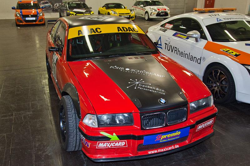 BMW 3er (E36) in der Motorsport Arena, Essen Motor Show 2012