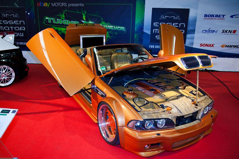 BMW 3er Cabrio (E36), Bj. 1998, 2.8 Liter, 193 PS, Gas Luftfahrwerk, 19 Zoll Räder mit 20 mm Adapterscheiben