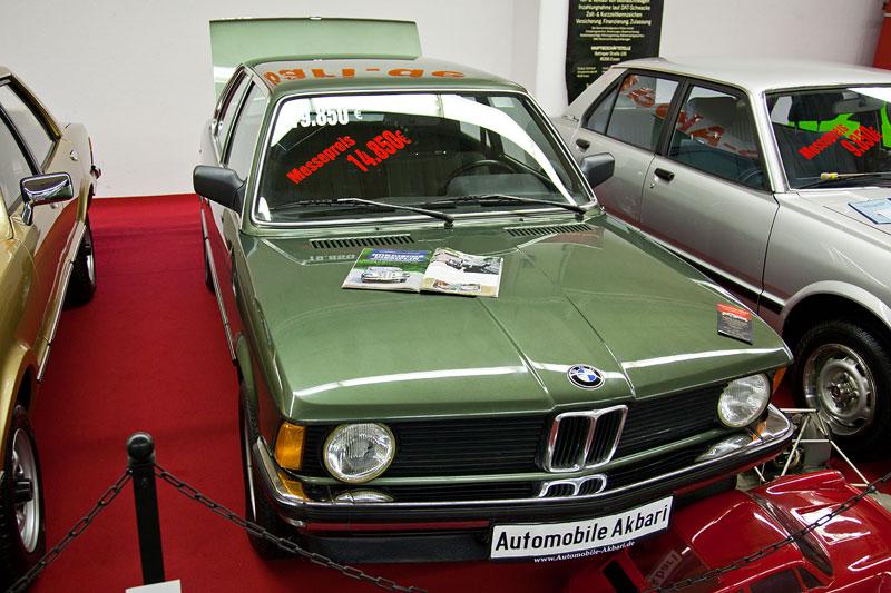 BMW 3er (E20) mit nur wenigen Kilometern auf dem Tacho zum Messe-Sonderpreis von 14.850 Eur