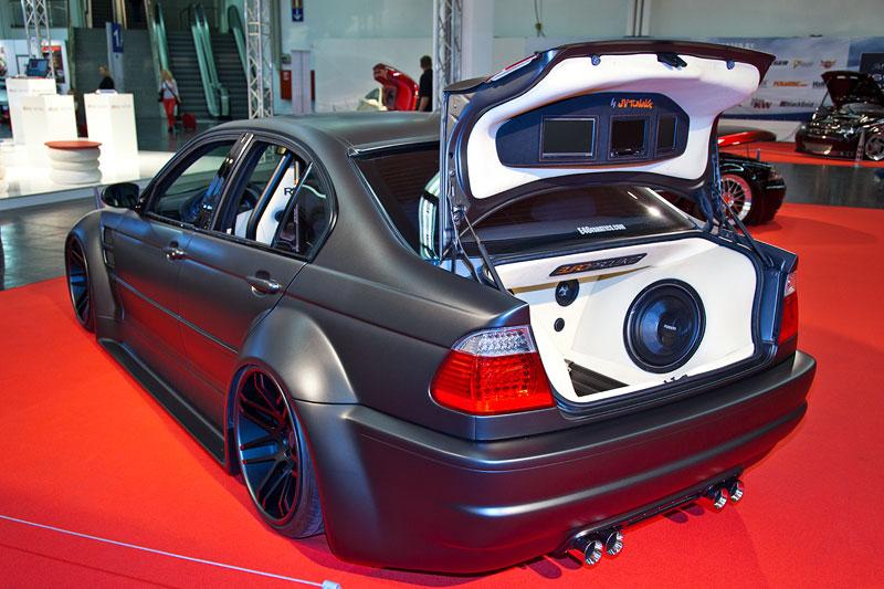 BMW 3er (E46), BSS Airride Fahrwerk / 20 Liter Tank / Viair Kompressor und Viair Digitalanzeigen