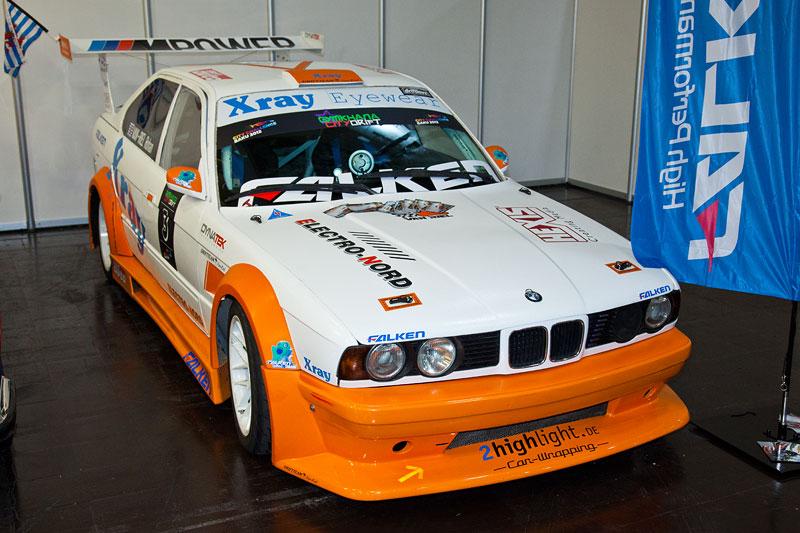 BMW 5er (E34) in der Motorsport Arena, Essen Motor Show 2012
