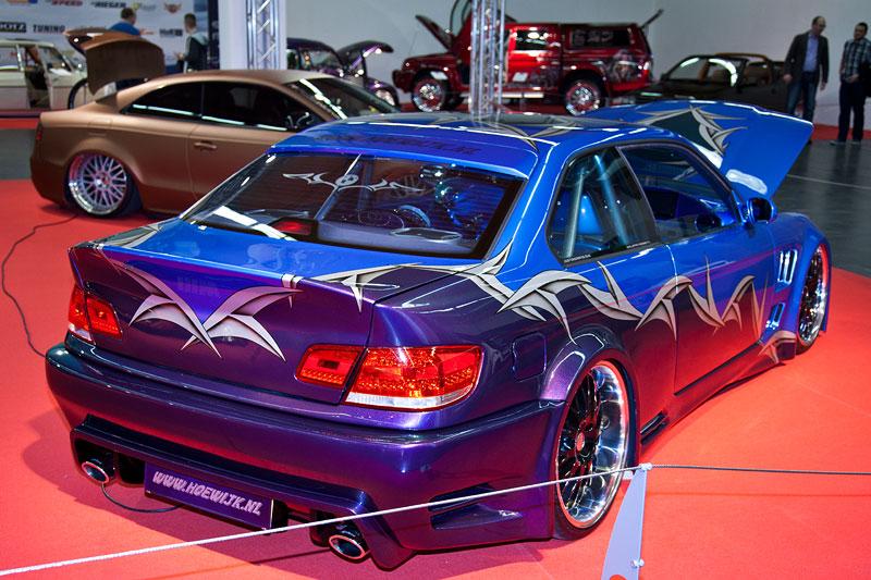 orig. BMW M3 (E36) mit zahlreichen Karosserie-Modifikationen z. B. E60 Front