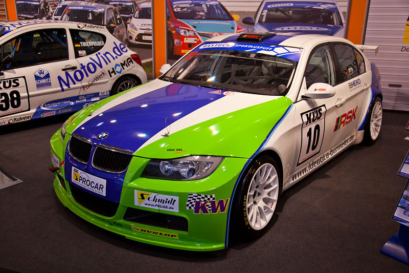 BMW 3er (E90) in der Motorsport Arena, Essen Motor Show 2012