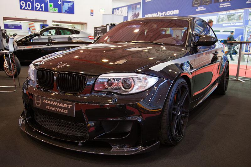 Manhart MH1S Biturbo auf Basis BMW 130i, Leistungssteigerung von 340 auf 467 PS, 606 Nm