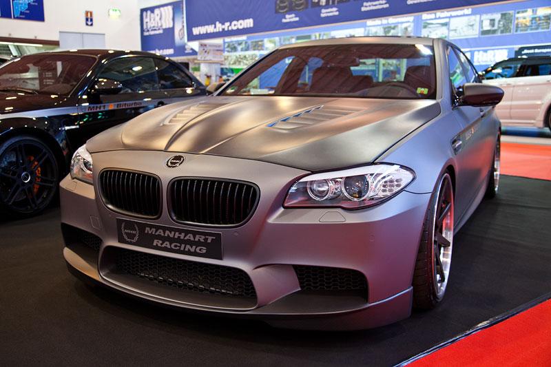 Manhart MH5 S Biturbo auf Basis BMW M5, Leistungssteigerung von 560 auf 646 PS, 773 Nm, vmax: 316 km/h