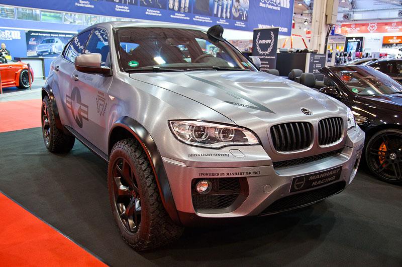 Manhart MHX6 Dirt Edition auf Basis BMW X6 xDrive50i, Leistungssteigerung auf 456 PS, 686 Nm