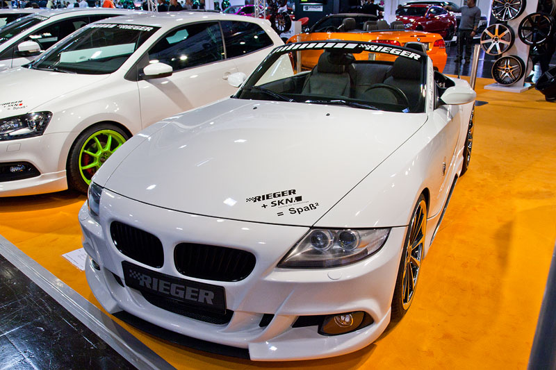 BMW Z4 3.0i (E89), Fahrzeugpreis inkl. Bausatz und Corniche Felgen: 34.990 Eur