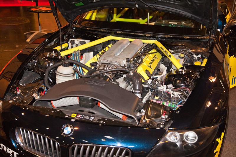 BMW Z4 Coupé (E85) mit V10 Viper Motor