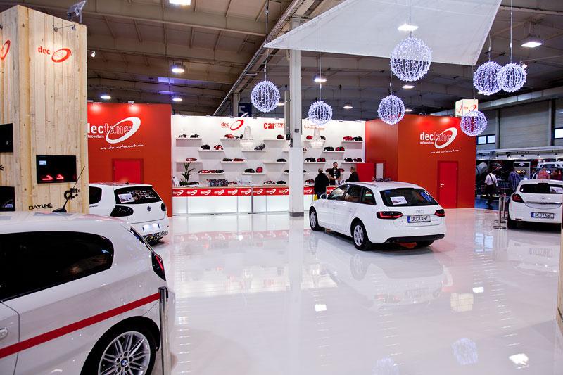 Stand von Dectane, Essen Motor Show 2012