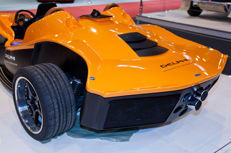 Sbarro F1 for 3, Heck