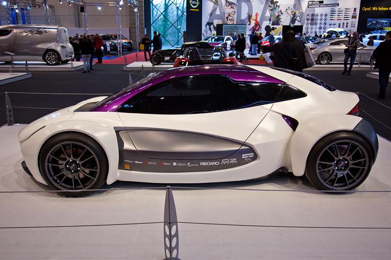Sbarro Intencity, designed von Franco Sbarro