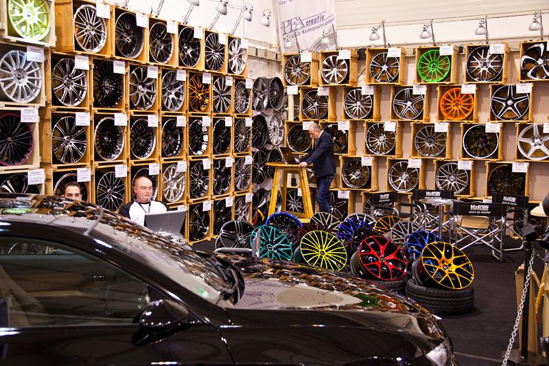 Felgen, Essen Motor Show 2012