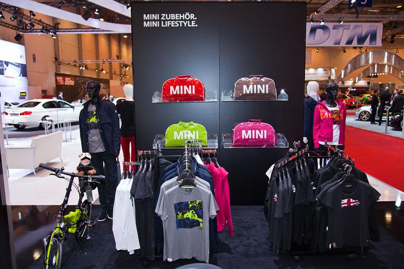 MINI Boutique auf der Essen Motor Show