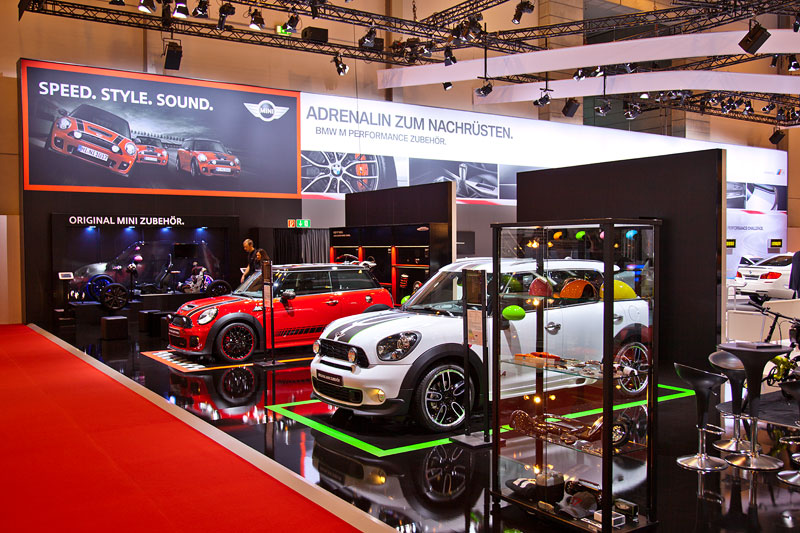 MINI auf der Essen Motor Show 2012