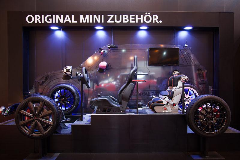 Original MINI Zubehör auf der Essen Motor Show 2012