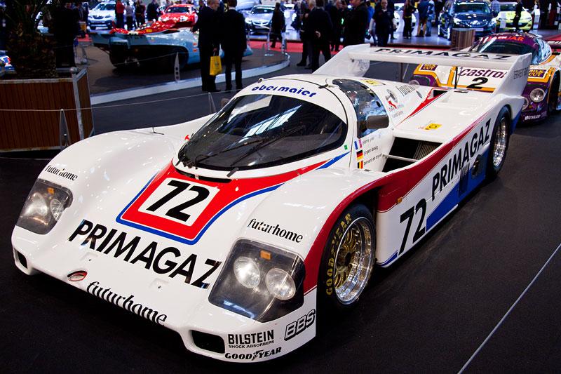 Porsche 962C aus dem Jahr 1987, 6-Zylinder Turbo, 2.800 ccm, 700 Ps, xPorsche wurde 1985 und 1986 mit dem 968C Weltmeister