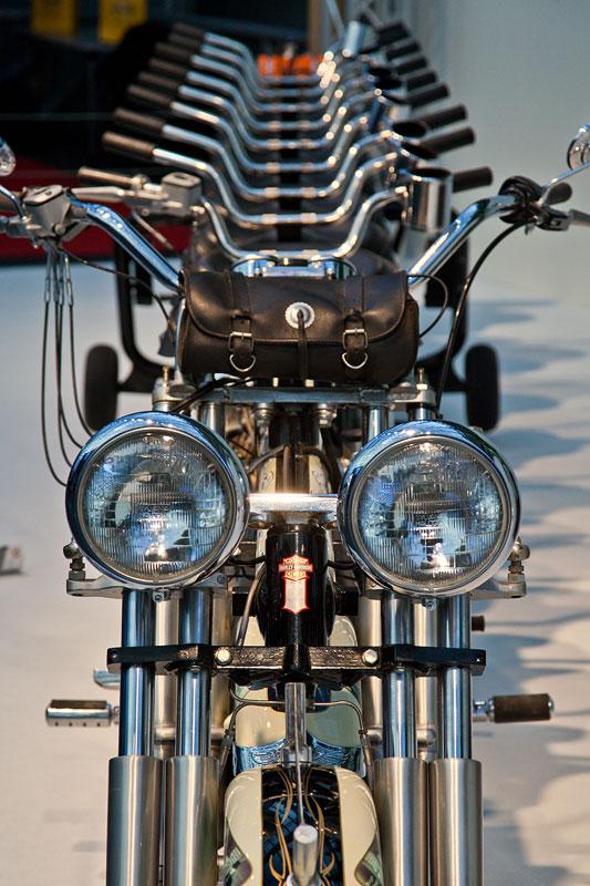 Bike-Sensation in der Galerie