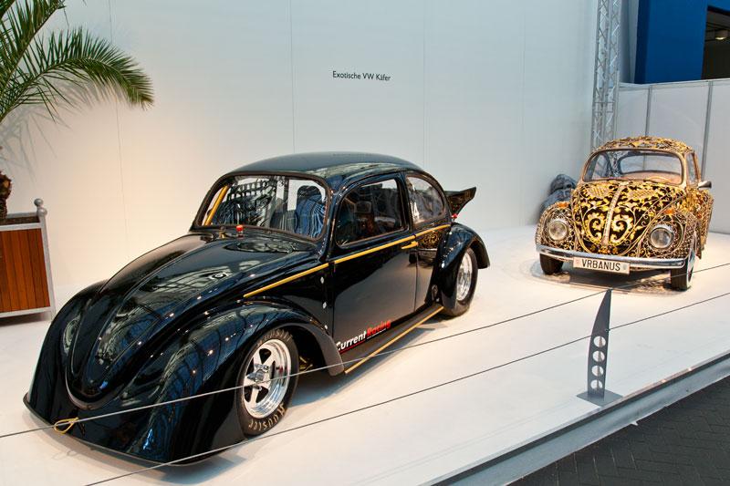Exotische VW Käfer in der Galeria
