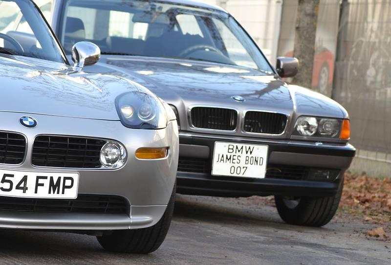 Es muss nicht immer Aston Martin sein: James Bond alias Pierce Brosnan fuhr in mehreren seiner Agenten-Streifen BMW.