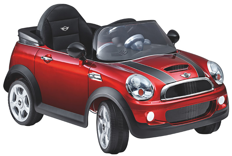 foto mini cooper s cabrio electro car vergr ert. Black Bedroom Furniture Sets. Home Design Ideas