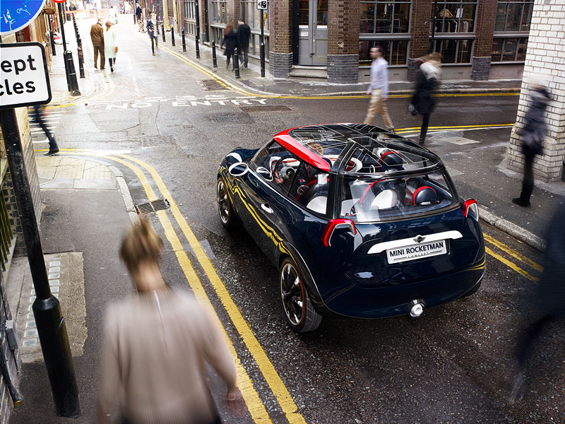MINI Rocketman Concept in neuem Look