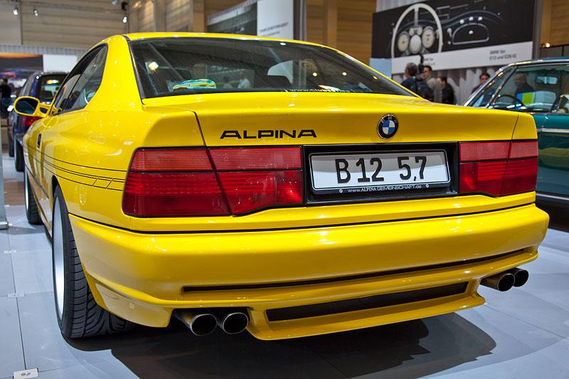 BMW Alpina B12 5,7 Coupé (E31), mit 416 PS Leistung