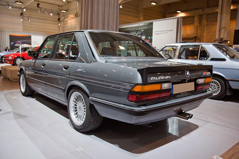 BMW Alpina B7 Turbo Katalysator (E28), erstmals im März 1984 auf dem Genfer Autosalon