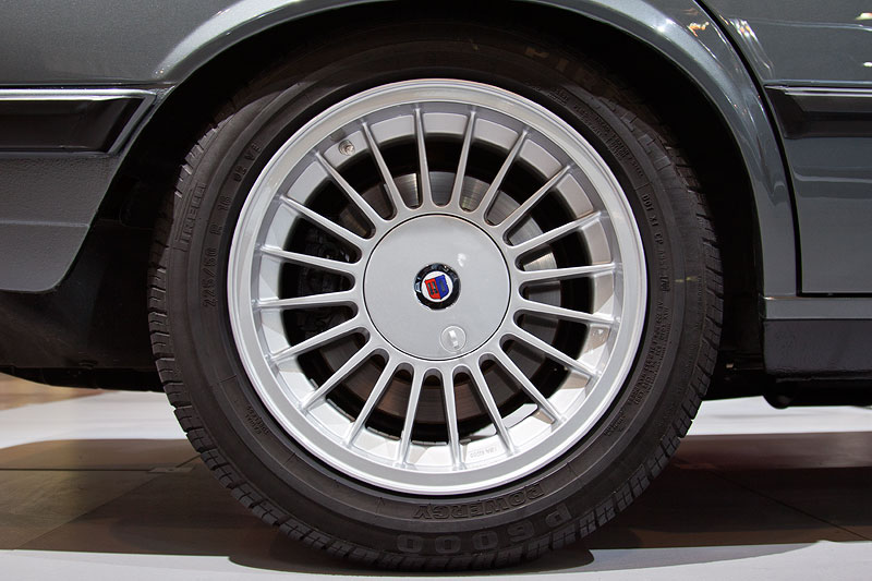 BMW Alpina B7 Turbo Katalysator (E28), Alpina Rad