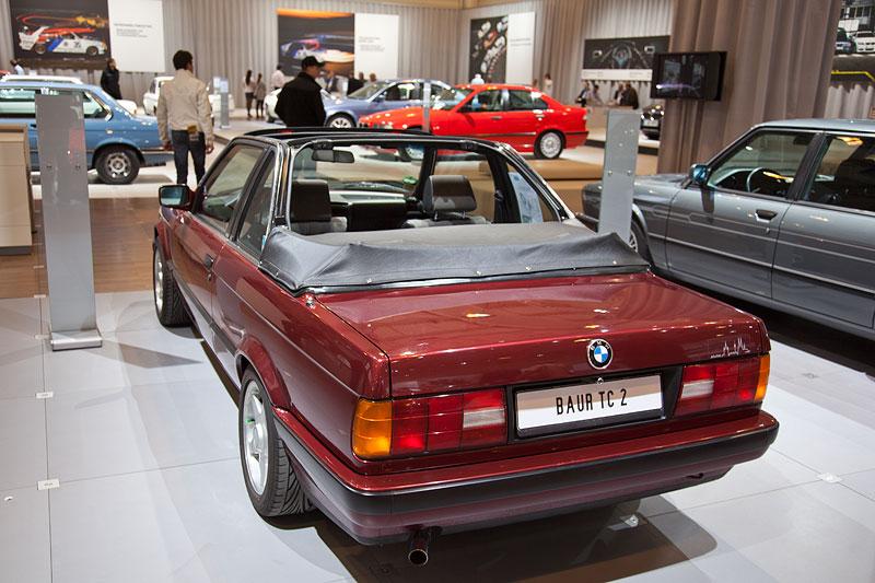 BMW 316i Baur Topcabriolet (Modell E30), insgesamt fertigte Baur 14.455 Fahrzeuge