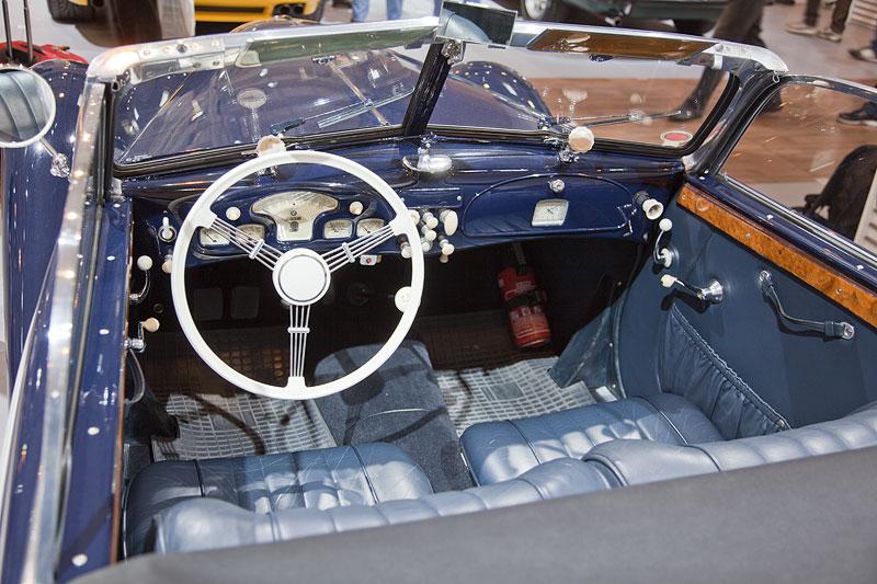 BMW 327 Sport-Kabriolett, Innenraum
